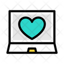 Reviews Love Heart Icon