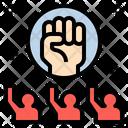 Revolution Fight Brave Icon