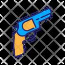 Revolver Gun Pistol Icon