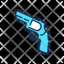 Revolver Gun Weapon Icon