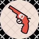 Revolver Firearm Gun Icon