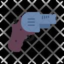Revolver Weapon Gun Icon