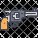 Revolver Gun Handgun Pistol Icon