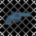 Revolver Handgun Gun Icon