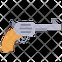 Revolver Pistol Handgun Icon