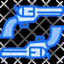 Revolver Pistol Duel Icon