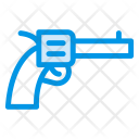Revolver Pistol Gun Icon
