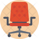 Swivel Chair Spinny Icon