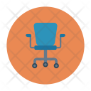 Revolving Chair Home Icon