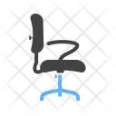 Chair Revolving Office Icon