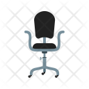 Revolving Chair Office Icon