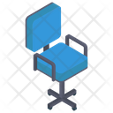 Revolving Office Chair Icon