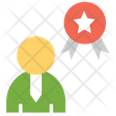 Reward Scolar Badge Icon
