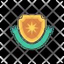 Reward Shield Medal Icon