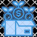 Reward Box Money Icon