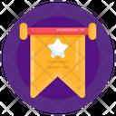 Star Emblem Reward Achievement Icon
