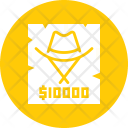 Reward Cowboy Criminal Icon