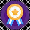 Honor Reward Badge Star Badge Icon