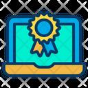Reward Laptop Icon