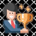 Rewarded Trophy Success Icon