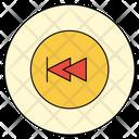 Rewind Back Play Icon