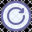 Rewind Arrow Interface Icon