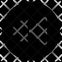 Rewind Circle User Interface Icon