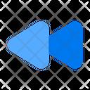 Rewind Backward Back Icon