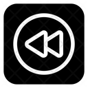 Rewind Back Arrow Icon