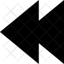 Rewind Reverse Backtrack Icon