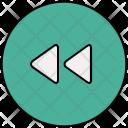 Rewind Music Player Icon