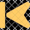 Control Rewind Button Icon