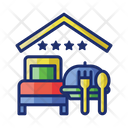 Rf Package Bed Breakfast Icon