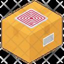 Rfid Tag Box Rfid Box Parcel Icon