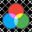 Color Computer Display Icon