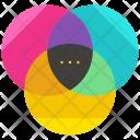 Rgb Color Combination Icon