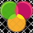 Rgb Color Scheme Ambient Colors Icon