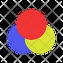 Rgb Color Color Mixer Color Icon