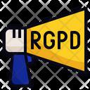 RGPD Announcement Icon
