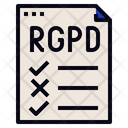 Rgpd Checklist Regulation Icon