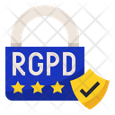 RGPD Data Security Icon