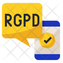 RGPD Mobile Icon