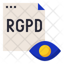 Rgpd Transparency Information Icon