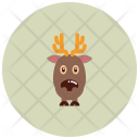 Rheindeer Animal Icon