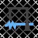 Rheostat Circuit Icon