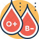 Factor Blood Group Icon