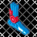 Rheumatoid Arthritis Foot Icon