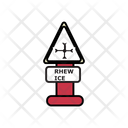 Rhew Ice Traffic Board Icon