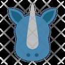 Rhino Rhinoceros Wild Animal Icon