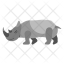 Rhino Unique Animal Icon